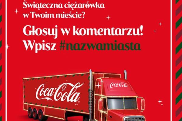 Świąteczna Ciężarówka COCA-COLI odwiedzi Kołobrzeg ?